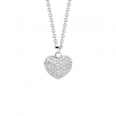 NANA KAY Pure Love Halskette Darling Silber mit Zirkonia ST413