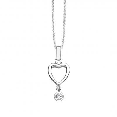 NANA KAY Pure Love Halskette Love Potion Silber mit Zirkonia ST920
