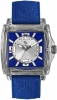 Laurens Unisex Armbanduhr Quarz Analog Transparent / Blau / Silberfarben 025828BB