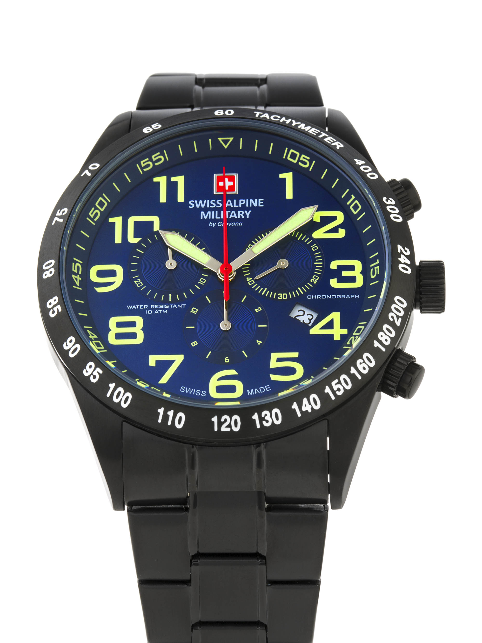 Swiss Alpine Military by Grovana Herrenuhr Chronograph 10 ATM 7047.9175SAM