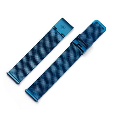 16 mm Milanaiseband Blau
